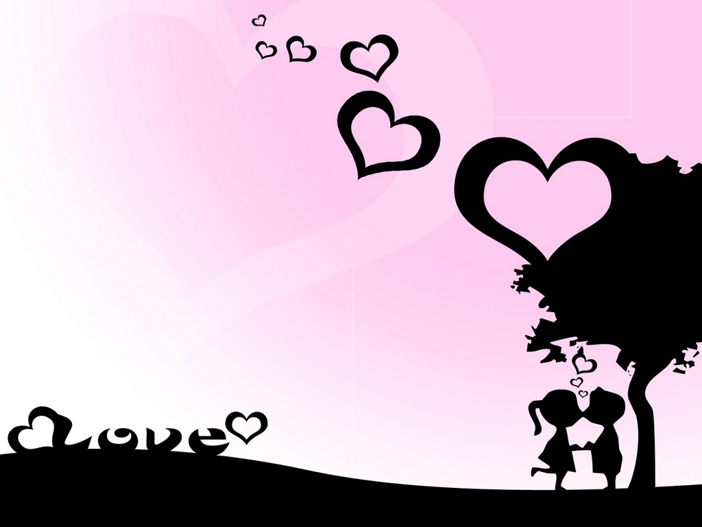 Emo Couple Wallpaper Love